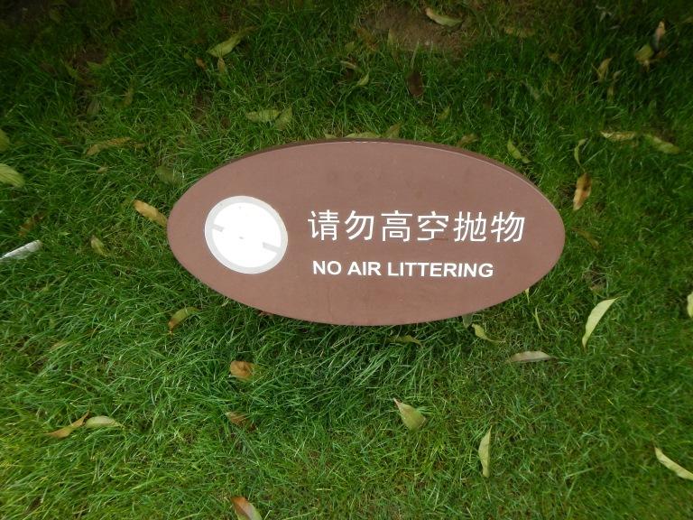 No Air LIttering